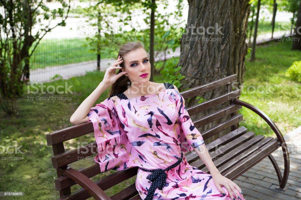 schöne Frau Schönheit Stil - Lizenzfrei Auge Stock-Foto