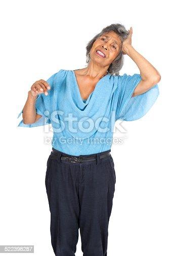 491747470 istock photo Beautiful woman doing different expressions in different sets of clothes 522398287