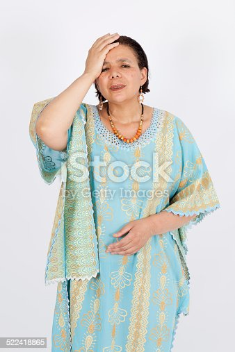 491747470 istock photo Beautiful woman doing different expressions in different sets of clothes 522418865