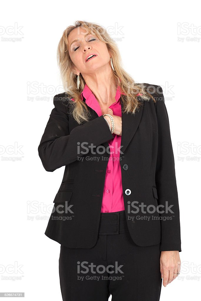 Beautiful woman doing different expressions in different sets of clothes - Royalty-free Adult Stock Photo