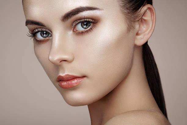Belle femme visage - Photo