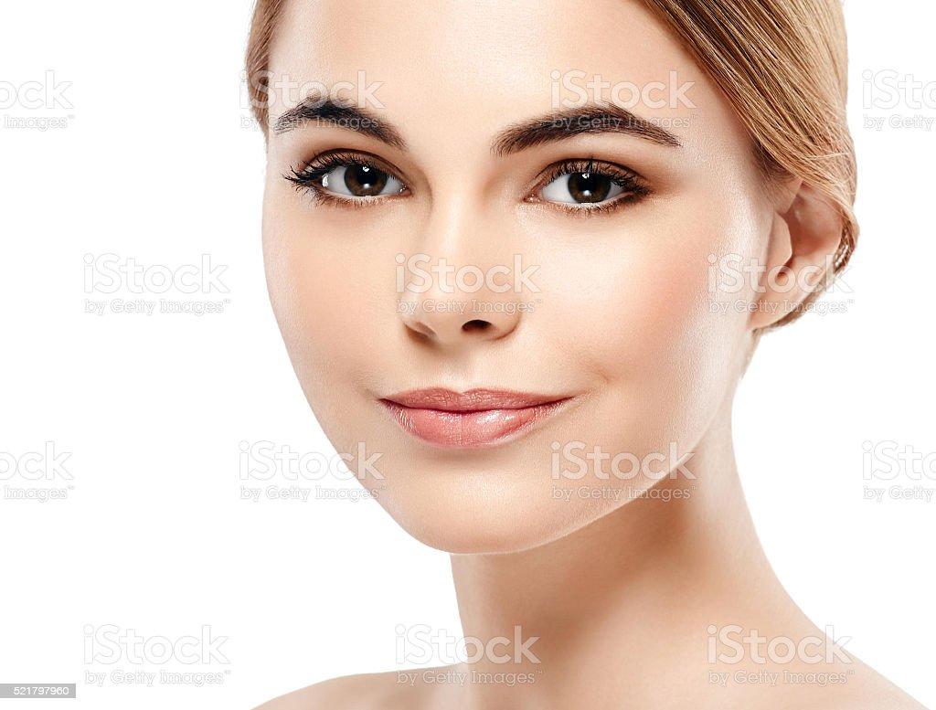 Очень красивое лицо в сексе