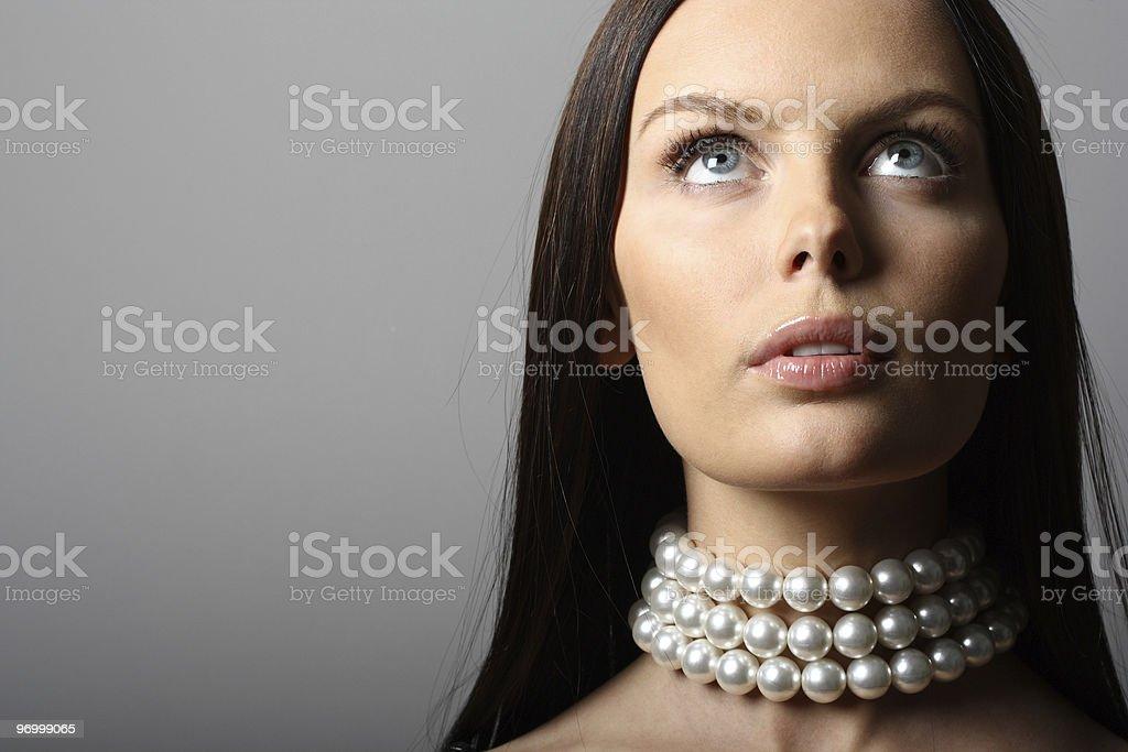 Beautiful woman. Fashion art photo royalty-free stock photo