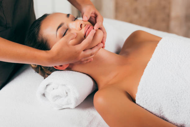 4 756 Facial Massage Stock Photos Pictures Royalty Free Images Istock