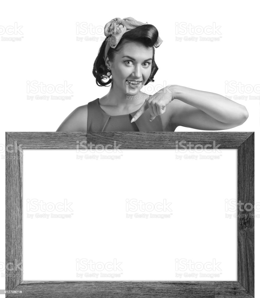 Beautiful  woman isolated on white. stock photo