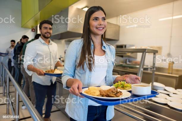 Beautiful woman leaving the buffet service with her tray ready to eat picture id954735494?b=1&k=6&m=954735494&s=612x612&h=npeama9eldsufhty4tmeqtxepk73z1x5lindrdcgrfi=