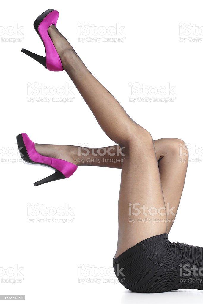 Колготки на ногах рв