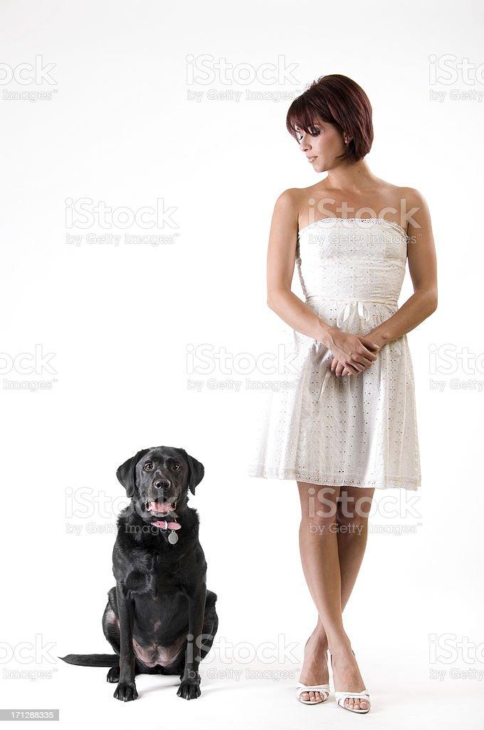 recherche femme chien