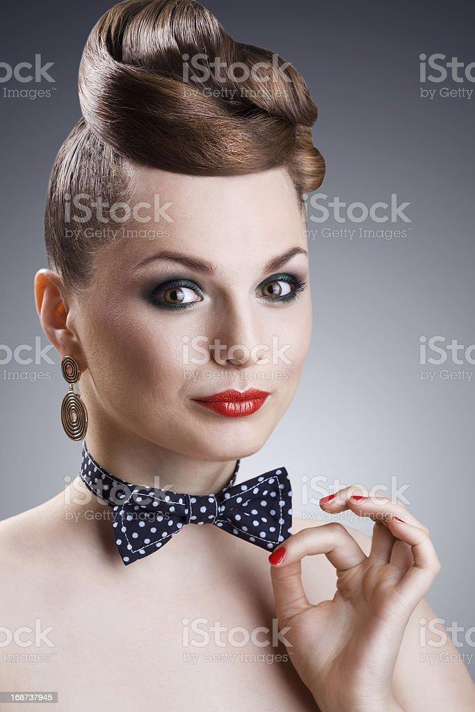 Schöne Frau-Modell – Foto