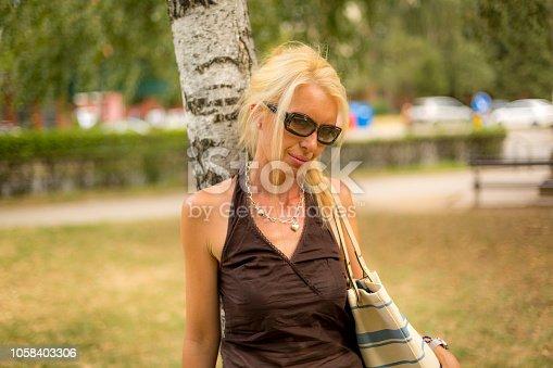 istock Beautiful woman 1058403306
