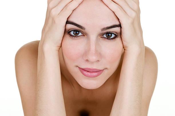 Beautiful woman Closeup of beautiful woman tighten stock pictures, royalty-free photos & images