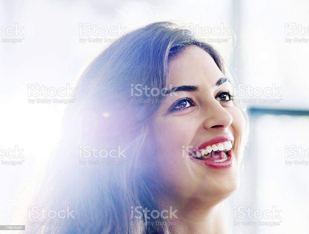 Hermosa mujer. foto de stock libre de derechos