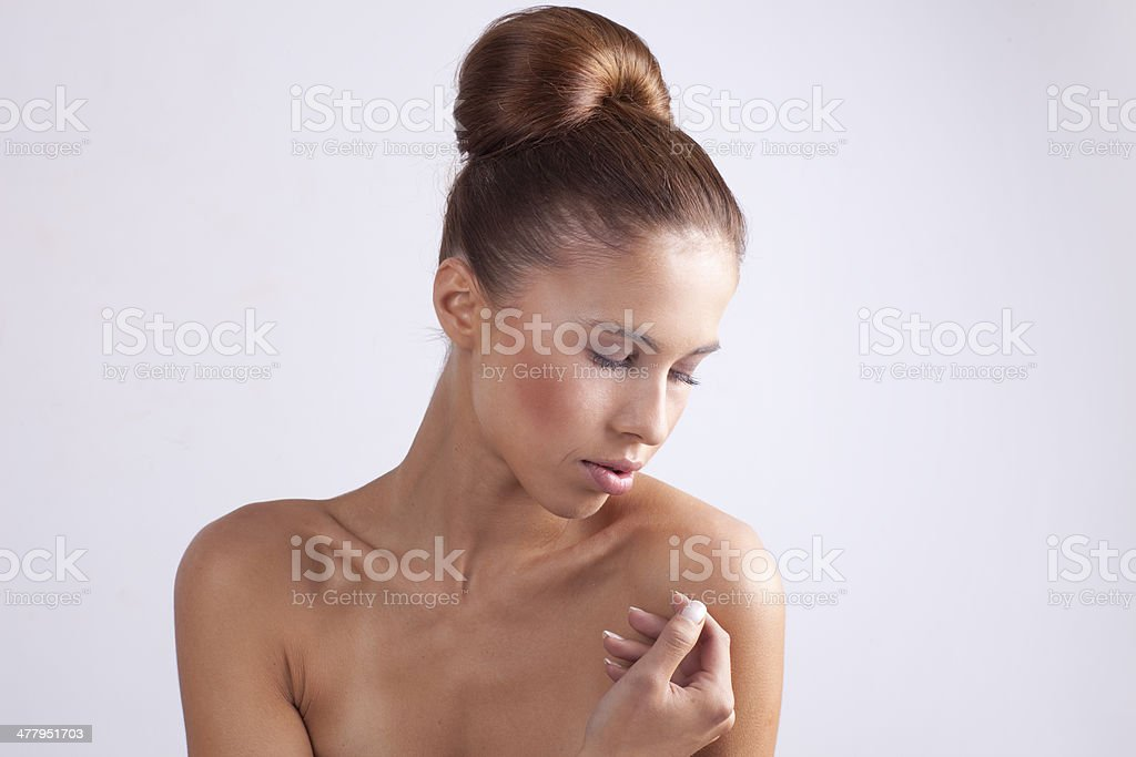 Beautiful woman. royalty-free stock photo