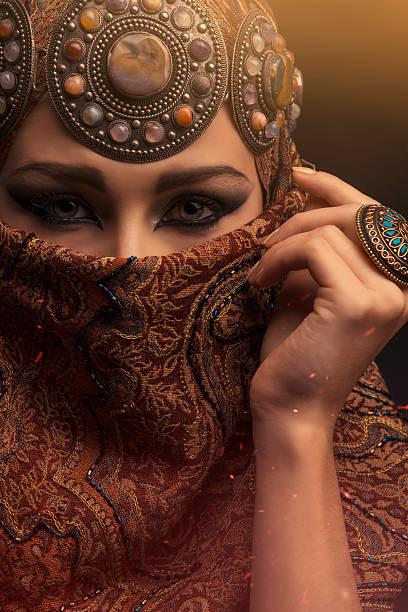 Beautiful woman stock photo