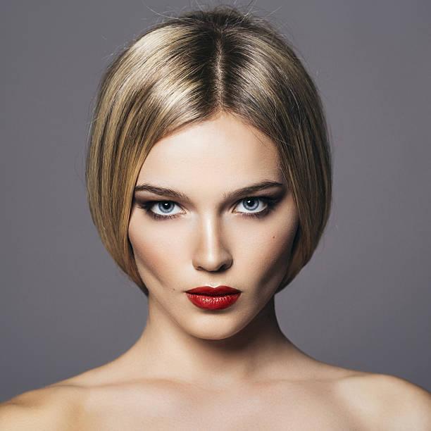 beautiful woman - 短毛 個照片及圖片檔