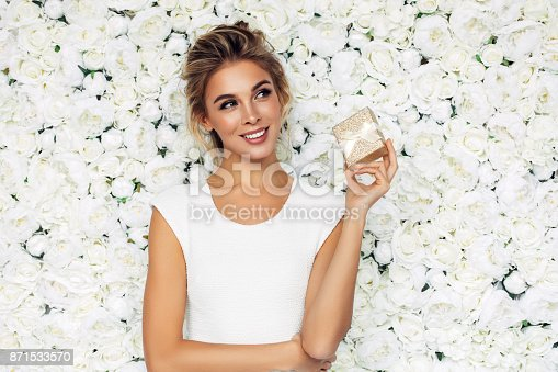 istock Beautiful woman 871533570