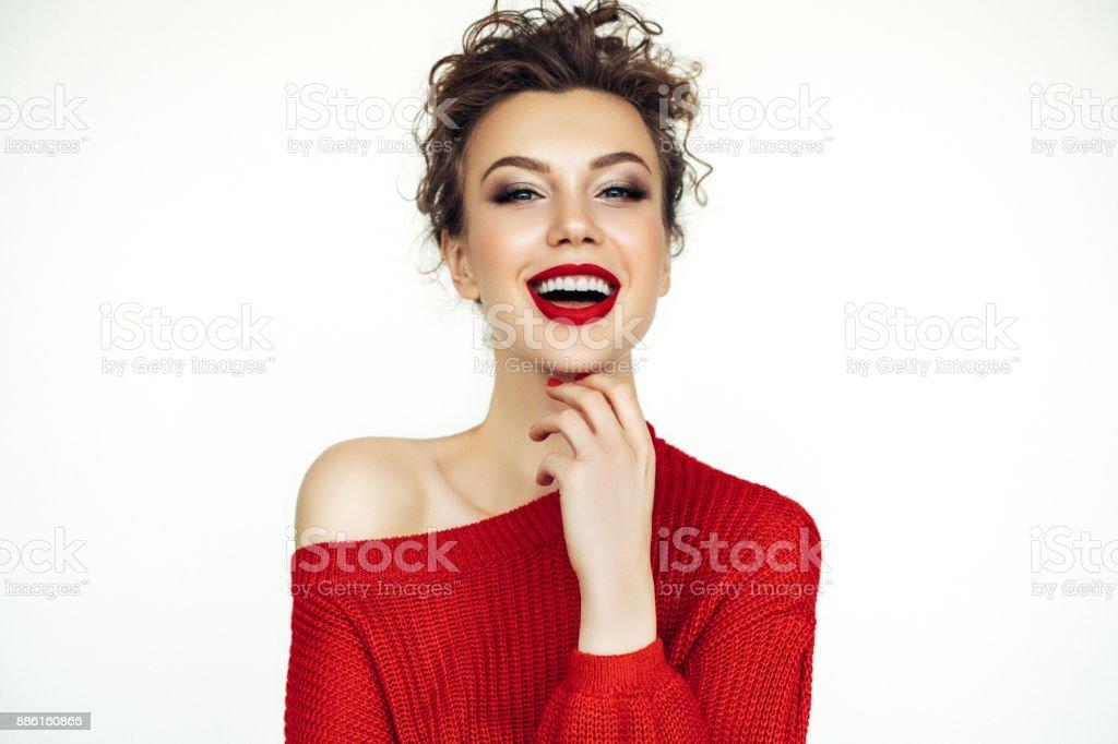Schöne Frau  – Foto