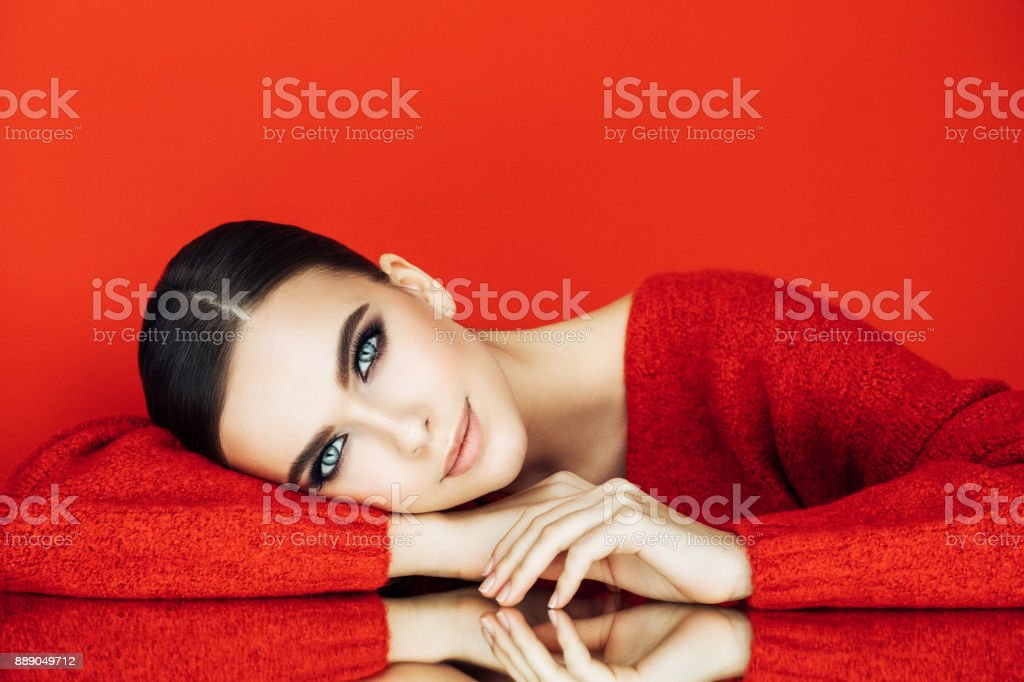 Beautiful woman - foto stock