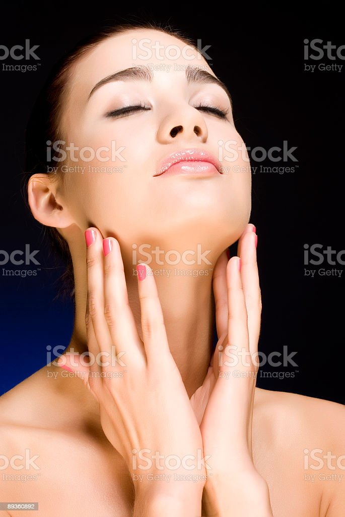 Beautiful woman royalty free stockfoto