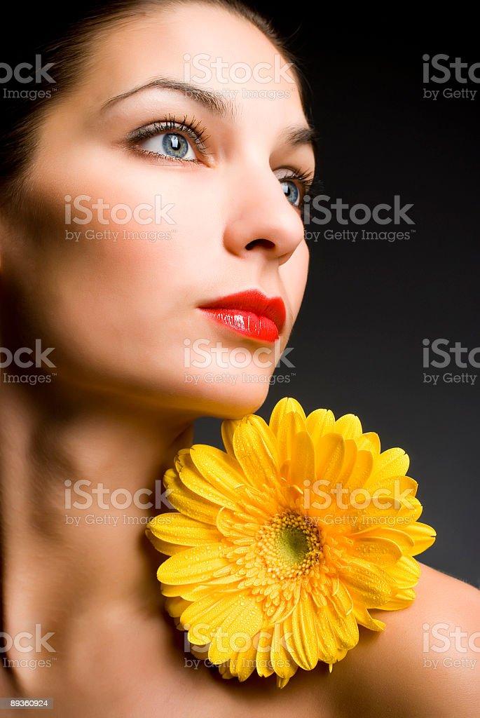 Piękna kobieta zbiór zdjęć royalty-free