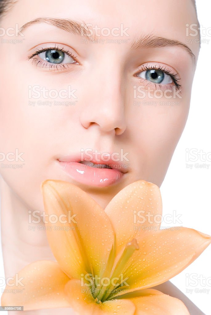 Beautiful woman royalty-free stock photo