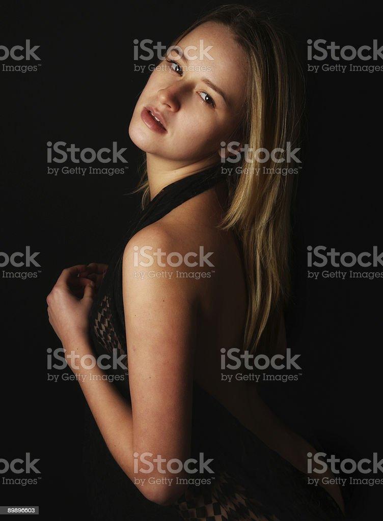 Schöne Frau Lizenzfreies stock-foto