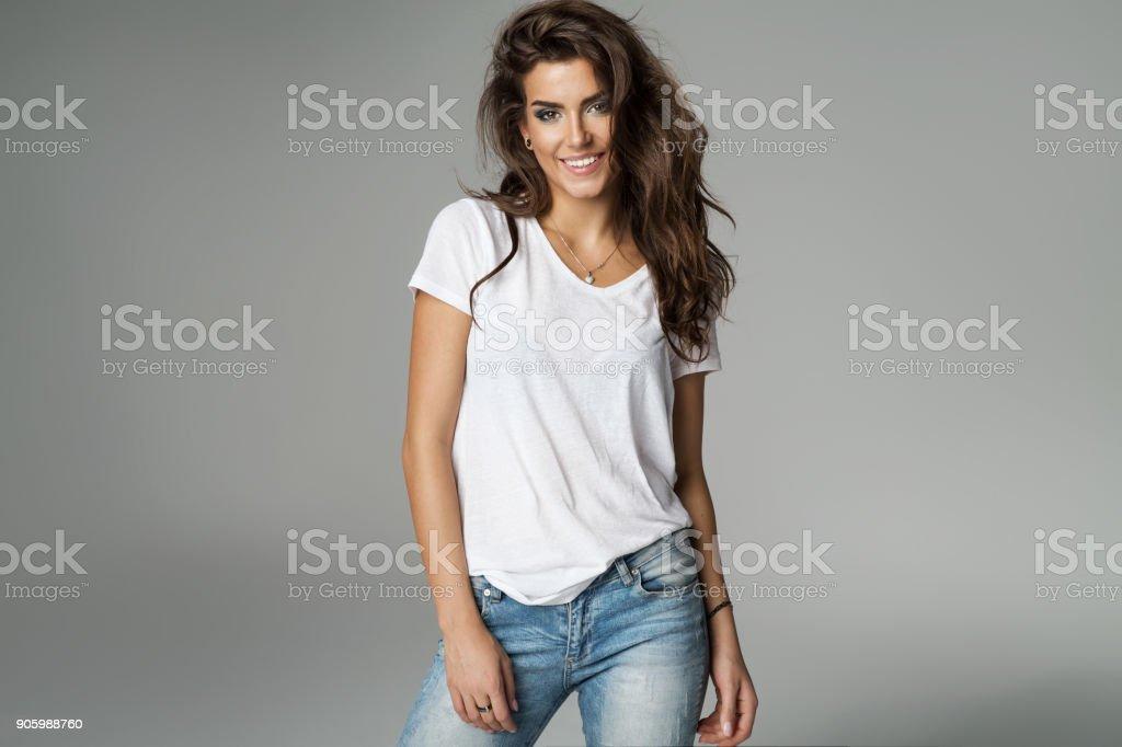 美麗的女人 - 免版稅20多歲圖庫照片