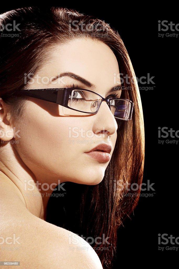 아름다운 여자 royalty-free 스톡 사진
