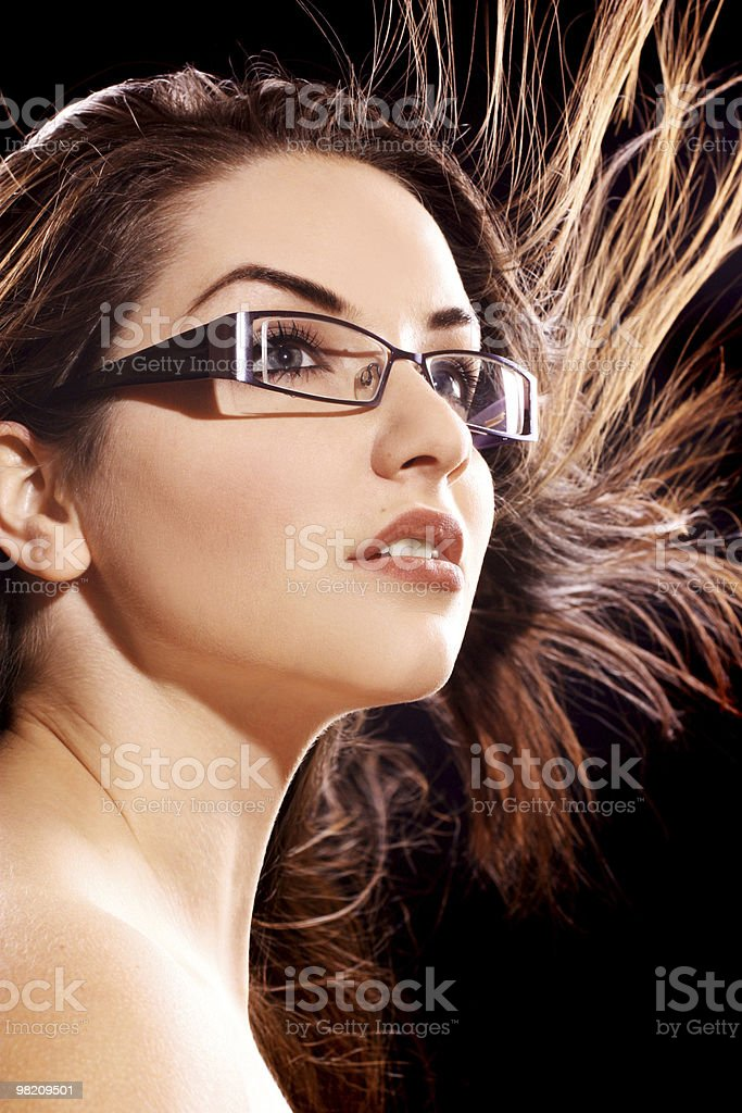 Bellissima donna foto stock royalty-free