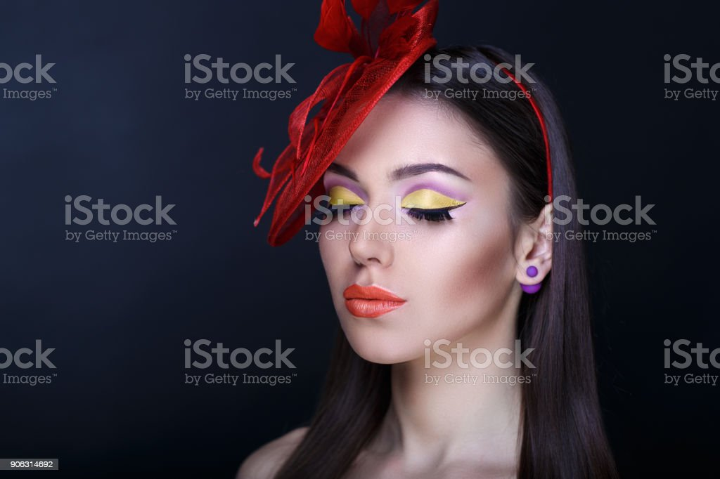 beautiful woman professional photo stock photo