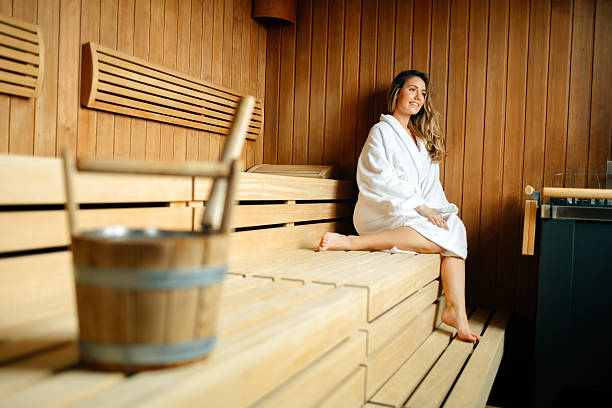 Royalty Free Naked Sauna Pictures, Images And Stock Photos -6495
