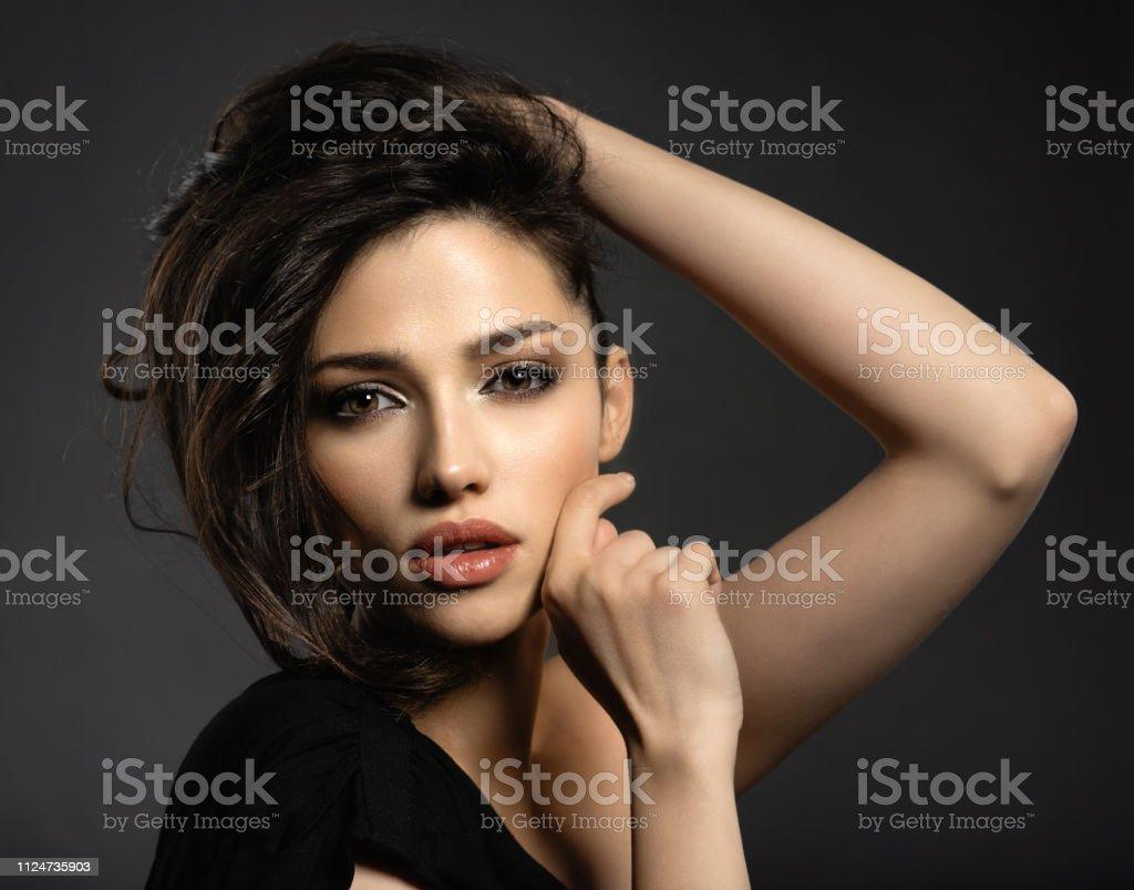 Braune haare braune augen welcher lippenstift