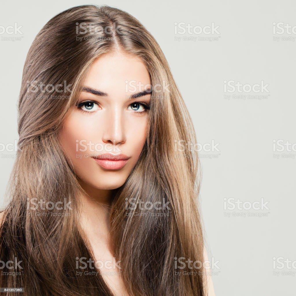 Braune Lange Haare Frisuren Frauen - Wheretobuyhooverh30600