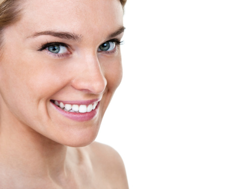 Beautiful Woman With Perfect Smile Stock Photo - Download Image Now