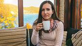 istock Beautiful women drink tea 1056272592