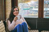 istock Beautiful women drink tea 1056274344
