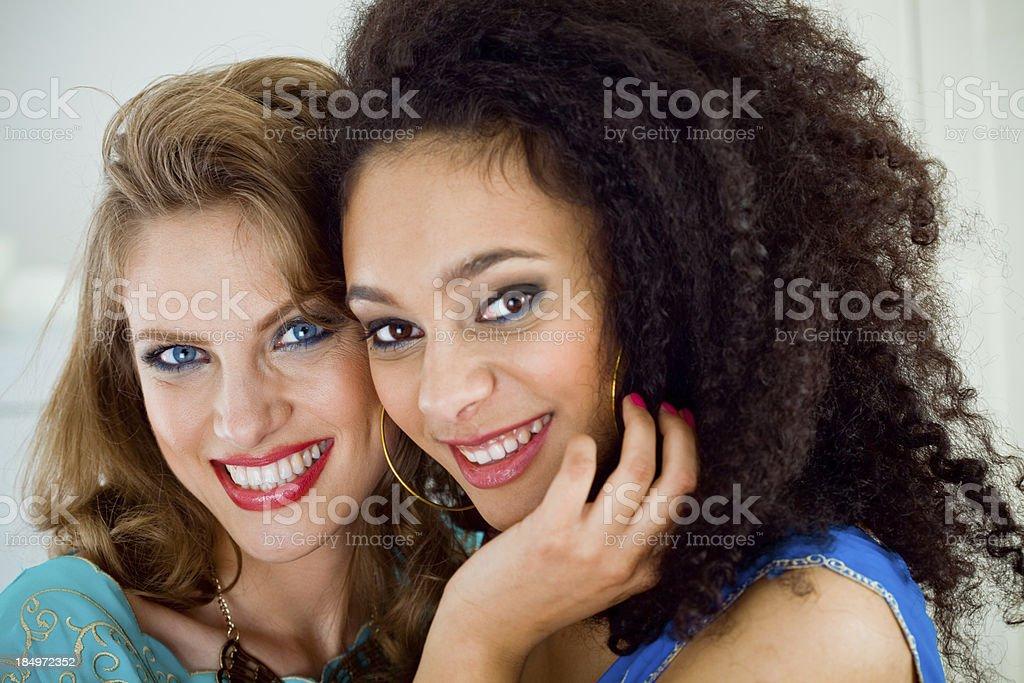 Schöne Frauen Lizenzfreies stock-foto
