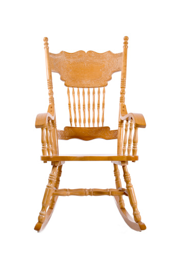 Superb Beautiful Wood Rocking Chair Stock Photo Download Image Squirreltailoven Fun Painted Chair Ideas Images Squirreltailovenorg