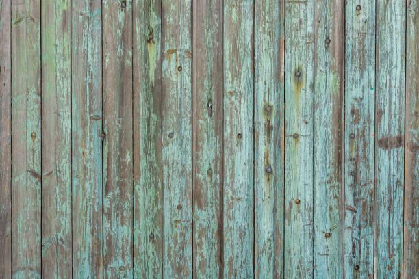 belle texture du bois de vieilles planches de bois et peinture patiné - mur bois photos et images de collection