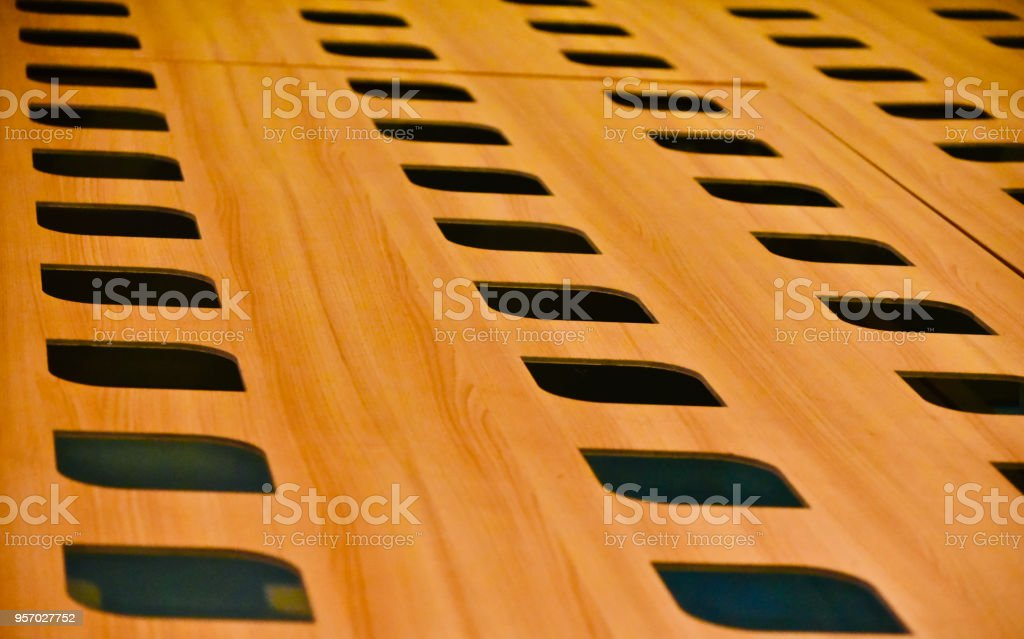 Beautiful wooden made stylish surface photo stock photo