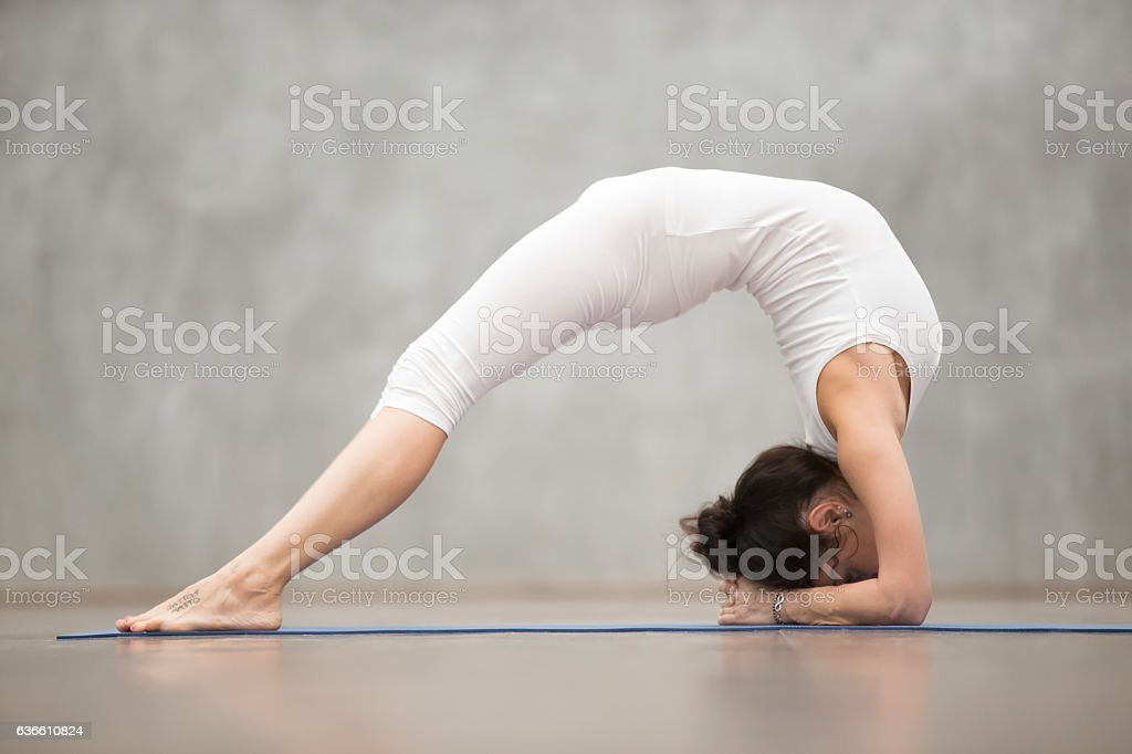 Beautiful Yoga Elbow Bridge Pose Stock Photo Download Image Now Istock