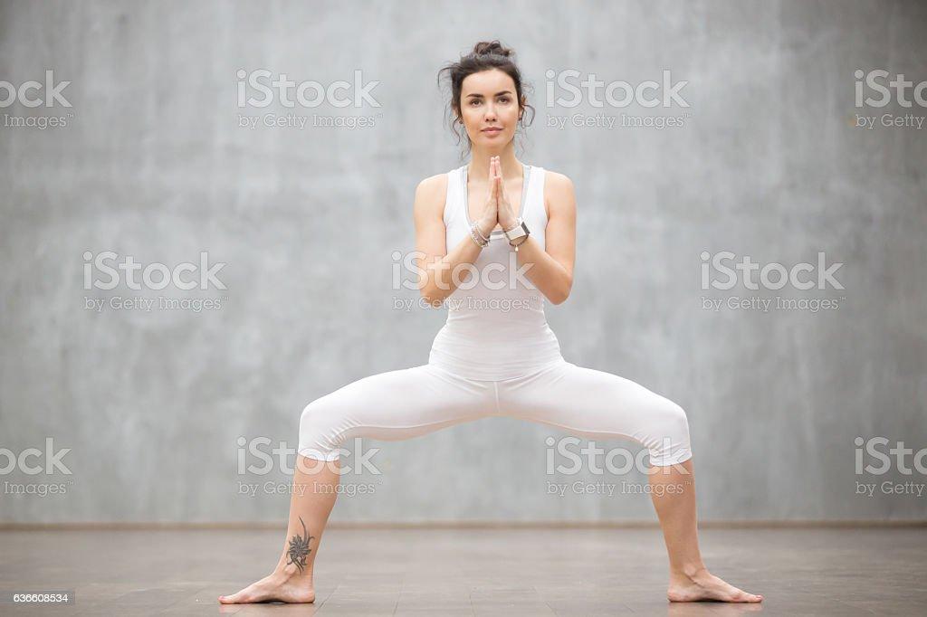 Beautiful Yoga: Goddess pose - Photo