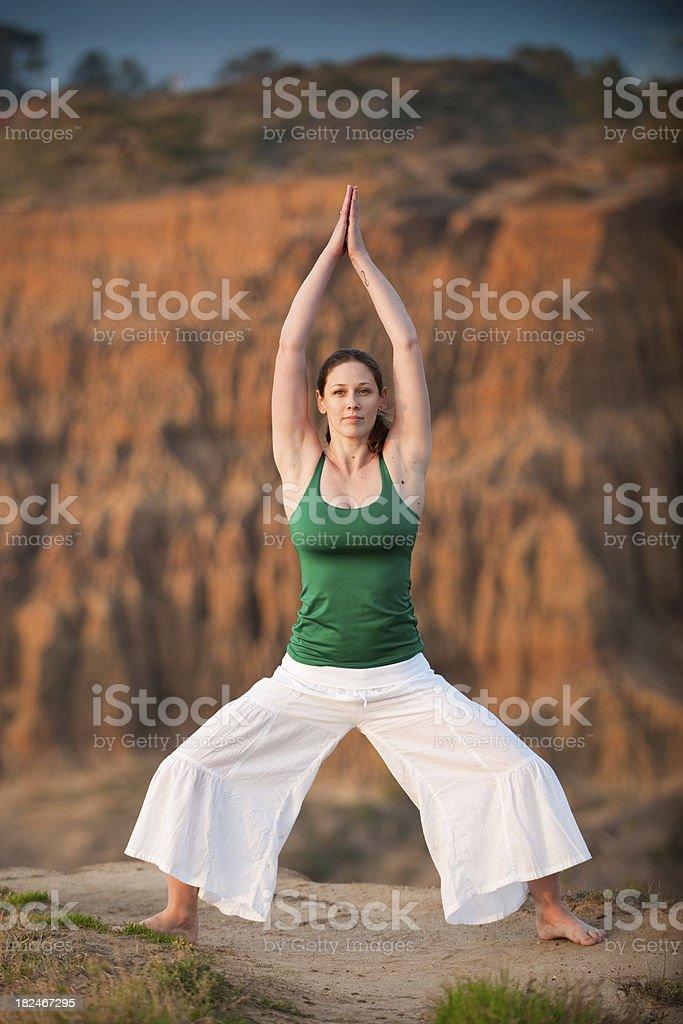 Beautiful Yoga royalty-free stock photo
