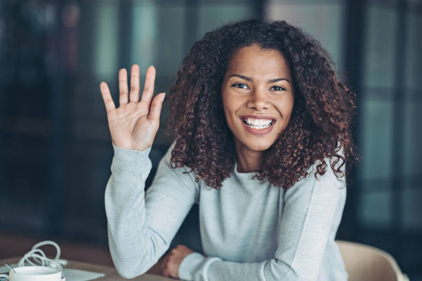 Beautiful young African ethnicity woman Portrait of a smiling young businesswoman civil rights stock pictures, royalty-free photos & images