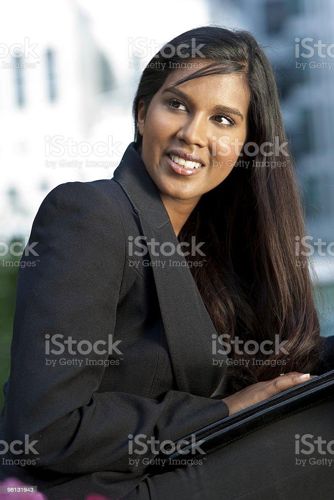 Beautiful Young Asian Businesswoman royalty-free stock photo
