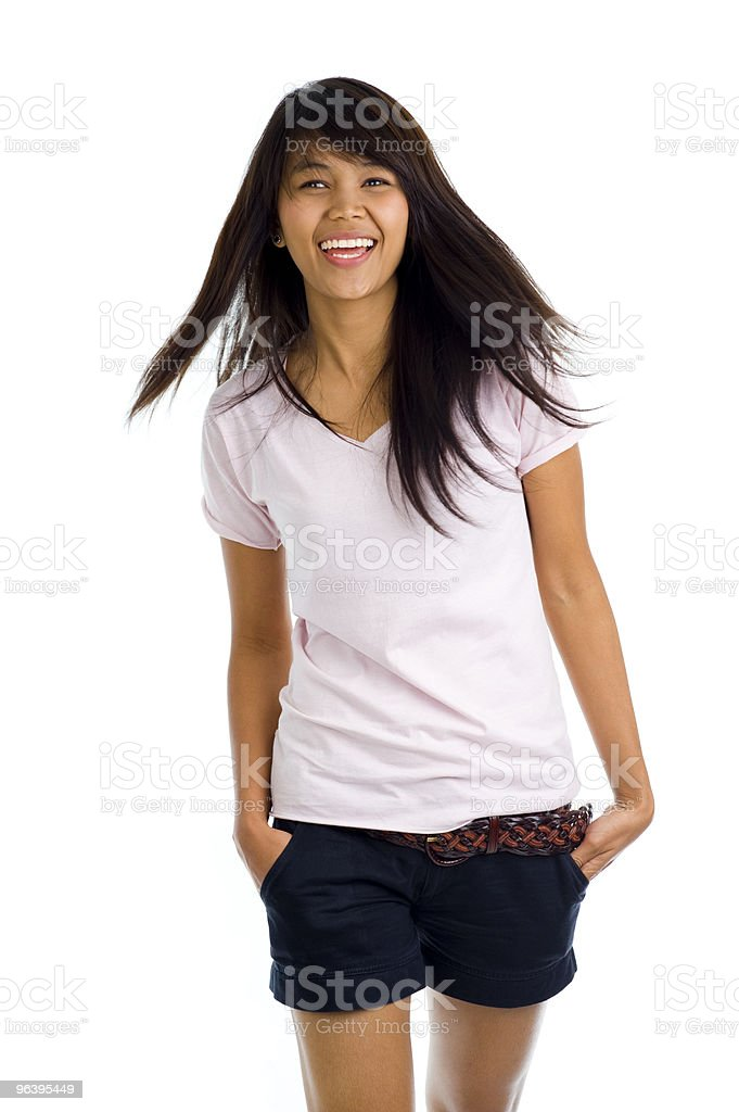 beautiful, young asian - Royalty-free Adult Stock Photo