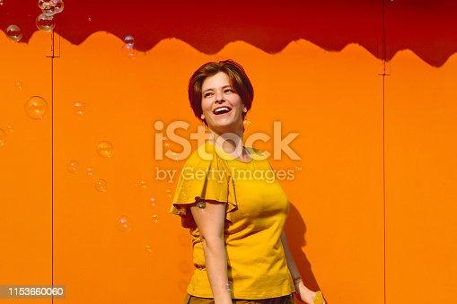 Woman, Portrait, Happy, Having Fun