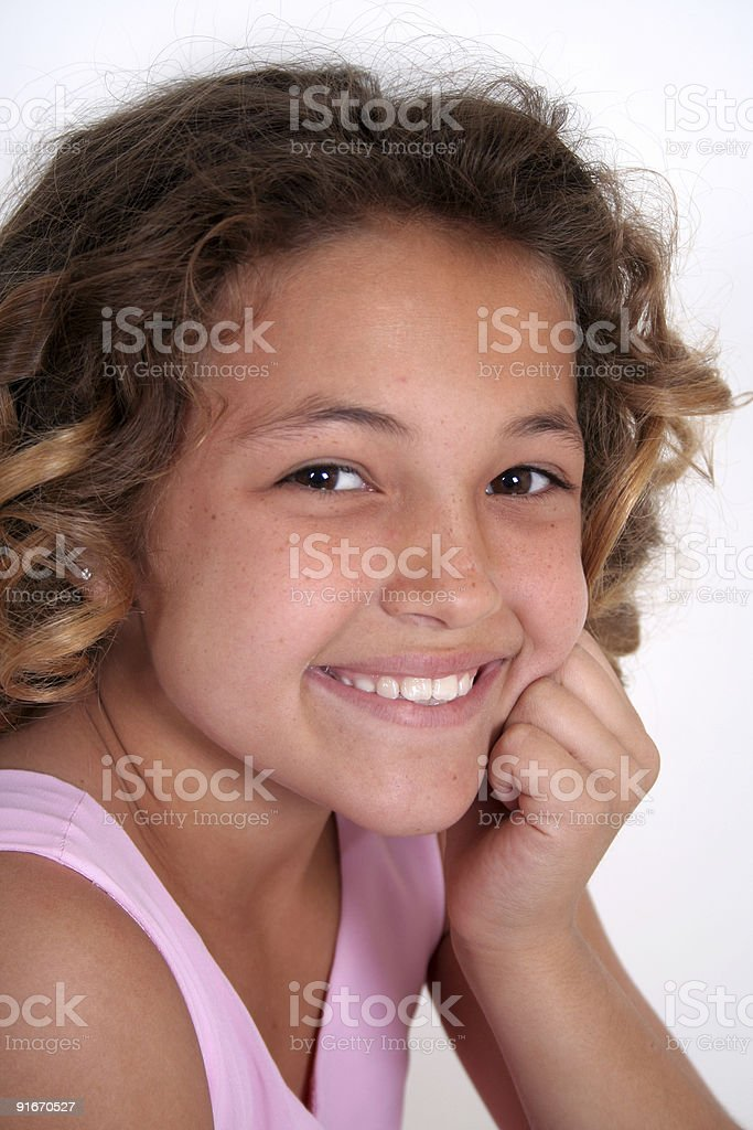 Beautiful Young girl 2 royalty-free stock photo