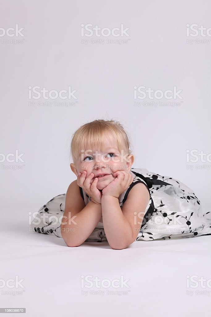 Beautiful young girl royalty-free stock photo