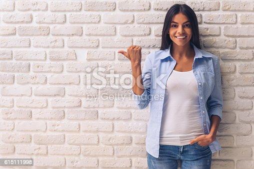 istock Beautiful young girl 615111998